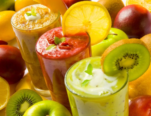 Fruktpunsjshake